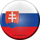 Slovak Republic Country Novelty Metal Circular Sign