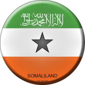 Somaliland Country Novelty Metal Circular Sign