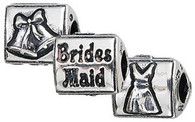 Authentic ZABLE Bridesmaid Wedding Bead Charm BZ2105