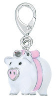 ZABLE Piggy Bank Bead Charms LC114