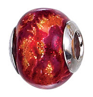 Authentic Zable made in Murano, Italy Glass Bead Charm BZ2823