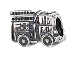 Authentic Zable Fire Truck Bead Charm Bz2057 Zable Store