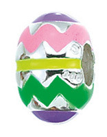 Authentic Zable Easter Egg Bead Charm BZ2031