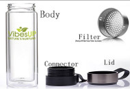 5in1 Tea, Fruit or Coffee Vibe Infuser Bottle **COUPON OK**