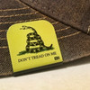 Hat clip Brim-it Dont tread on me color