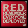 Hat clip Brim-it Remember Everyone Deployed