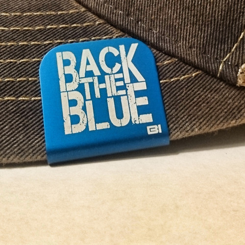 Hat clip Brim-it Back the Blue