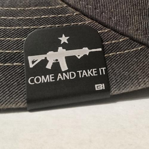 Hat clip Brim-it Come and Take It