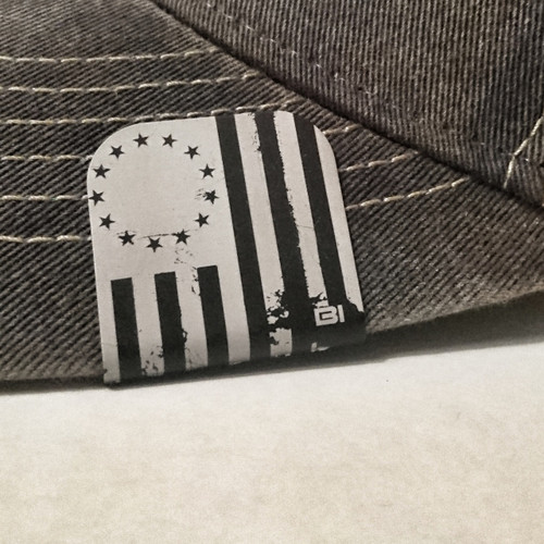 hat clip Brim-it Betsy Ross Draped