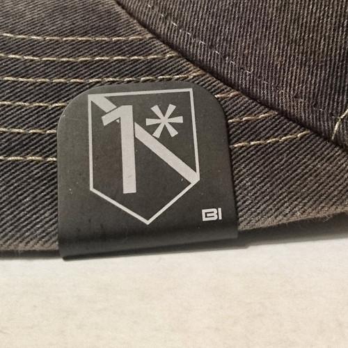 Hat clip Brim-it 1* leo black