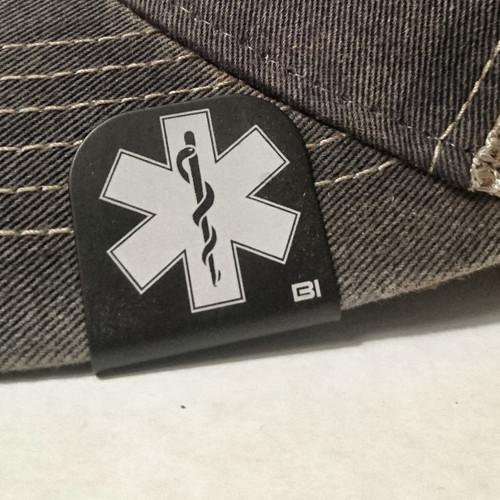 Hat clip Brim-it EMT in Black