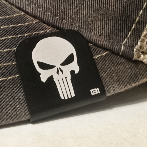 Hat clip Brim-it Punisher