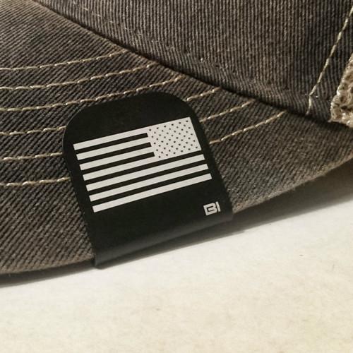 Hat clip Brim-it Reverse American flag