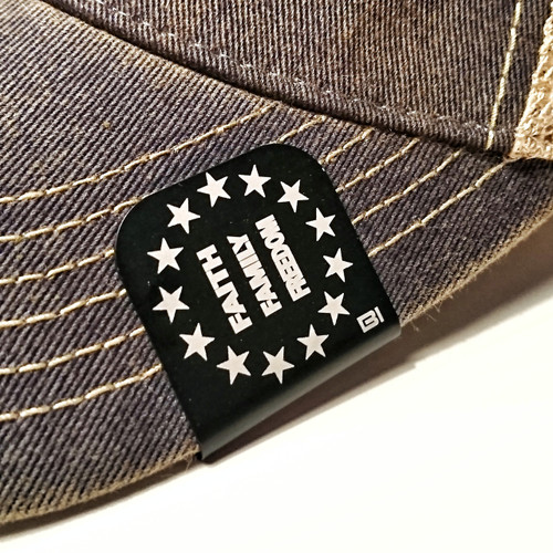 Hat clip Brim-it Faith, Family, Freedom
