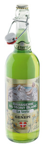 La Verte Brasserie du Mont Blanc (Green Absinthe Beer with Genepi) 5.9% 24 x 330ml Bottles