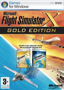 Microsoft Flight Simulator X - Gold Edition (PC)