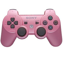 Sony PS3 DualShock 3 Wireless Sixaxis Controller Candy Pink