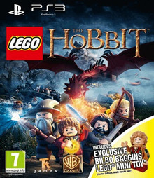 LEGO The Hobbit + Bilbo Baggins Toy (PS3)