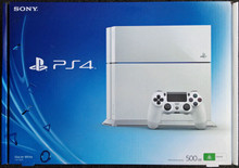 Sony Playstation 4 Gaming Console (White)