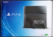Sony Playstation 4 Gaming Console (Black)