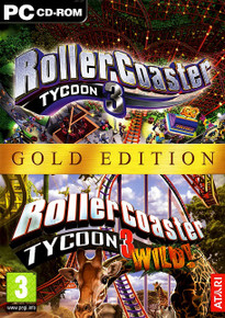 RollerCoaster Tycoon 3 Gold Edition (PC)