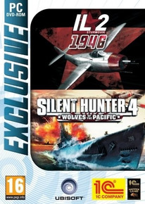 IL-2 Sturmovik 1946 & Silent Hunter 4 Wolves of the Pacific (PC)