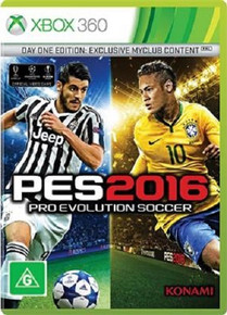 Pro Evolution Soccer 2016 Day One Edition (X360)
