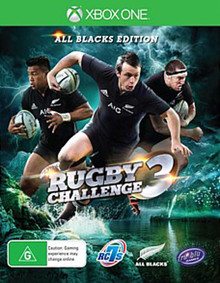 Rugby Challenge 3 All Blacks Edition (Xbox One)