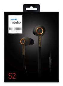 Philips Fidelio S2KB In-ear headphones with mic