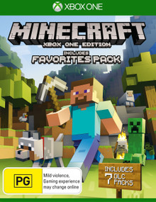 Minecraft with Favourites Packs (Xbox One)