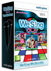 We Sing 80s + 2 Microphone Pack (Wii)