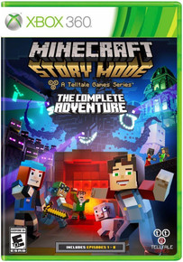 Minecraft Story Mode The Complete Adventure (X360)