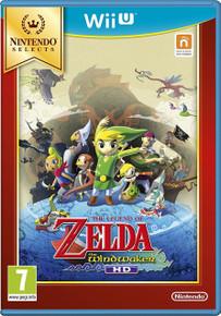 The Legend of Zelda The Windwaker HD (WiiU)