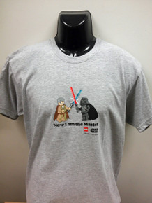 "Lego Star Wars T-Shirt ""Now I am the master"""