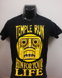 "Temple Run T-Shirt ""Run For Your Life"""