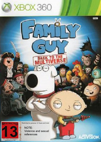 Family Guy: Back to the Multiverse (X360)