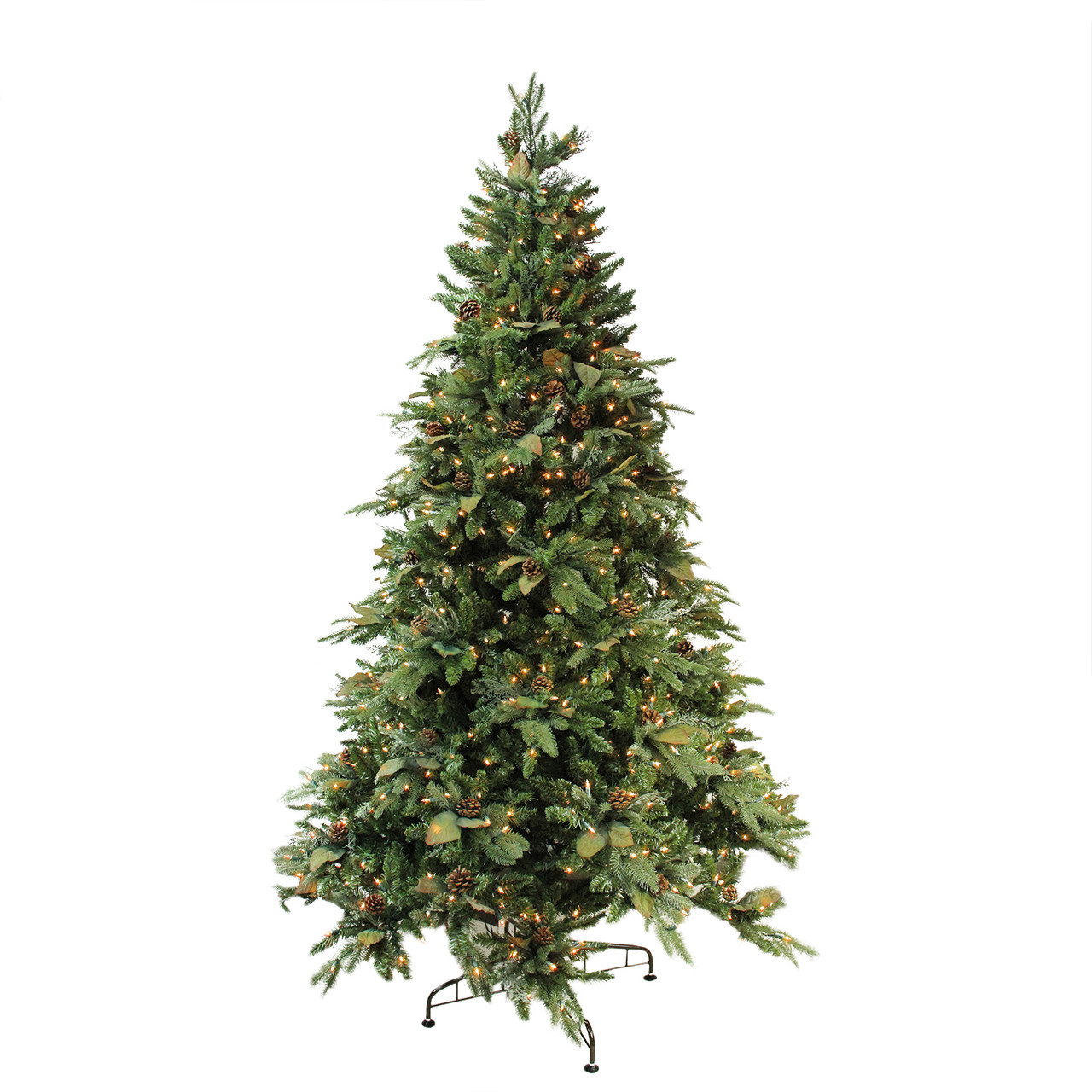 7 5 39 Green River Spruce Pre Lit Artificial Christmas Tree Clear Lights