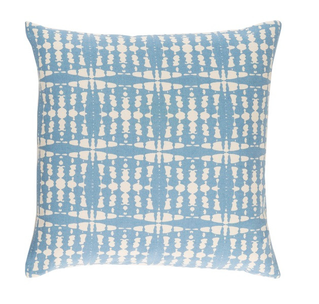 Powder Blue Decorative Pillows : 22 Powder Blue and Snow White Chevron Decorative Throw Pillow - Down Filler 32215375 ...