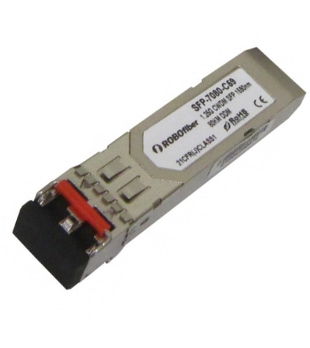 CWDM 80Km Gigabit SFP (1271-1451nm) (SFP-7080-CLXX)