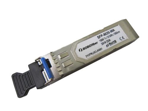 155M (FE / OC3/ STM-1) 20Km BiDi single strand SFP A type Tx:1310nm (SFP-5020-WA)