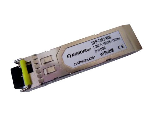 Gigabit 1.25G 2Km BiDi single strand SFP B type Tx:1550nm (SFP-7002-WB)