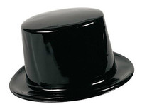 Child's Plastic Top Hat - Dozen Packaging