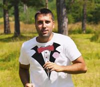 Athletic Tuxedo T-shirt Dry Weave