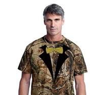 **On Sale**Tuxedo T-shirt  Realtree® Camo(Stock on Hand)