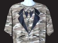 Tuxedo T-shirt in Desert Camo