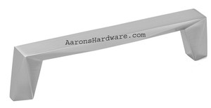 2318-1BPN-P Cabinet Handle Brushed Nickel 224mm Hole Spacing