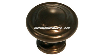 "9653-EOA Cabinet Knob Oil Rubbed Bronze 1 ¼"" Diameter"