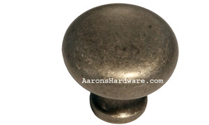 "9654-AIM-D Cabinet Knob Weathered Iron 1 ¼"" Diameter"