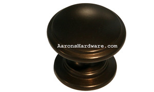 "9669-EOA Cabinet Knob Oil Rubbed Bronze 1 ¼"" Diameter"