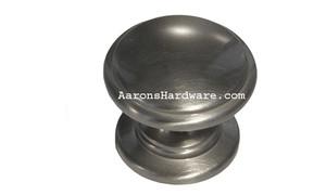 """9669-BSN Cabinet Knob Brushed Satin Nickel 1 ¼"""" Diameter"""